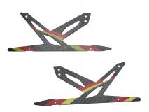 Blade 130 X Xtreme Ersatz Landegestell rot