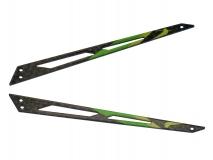Blade 130 X Xtreme Carbon Heck Ausleger grün