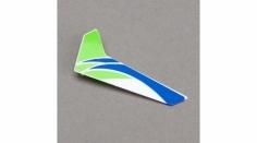 Blade Ersatzteil mCP X v2 Vertikalfinne Grün mit Dekor