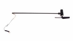 Blade Ersatzteil mCP S und mCP X v2 Heckrohr mit Motor Rotor und Halter