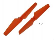 Blade Ersatzteil 180 QX HD Propeller links und rechts drehend orange