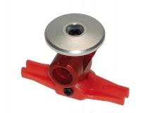 Xtreme Titanium Rotorkopf in rot für Blade 130X