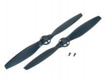 Blade Ersatzteil 350QX Propeller Grau RD + LD