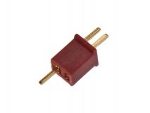 Mini T-Stecker rot