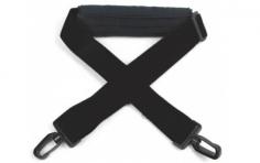 Sendertragegurt in schwarz mit Nackenpolster