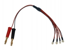 Ladekabel 4-fach Mini Stecker parallel für MSR, MSR X, Nano CP X, Nano QX, ...