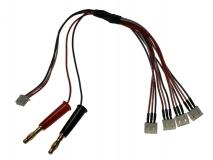 Ladekabel T-REX 150 4-fach parallel für XH Balancer