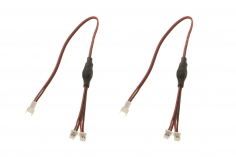 E-flite Y-Kabel 15cm, HD (2 Stk): Universal Light Kit