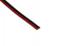 Zwillingslitze rot/schwarz 2x14qmm 1 Meter