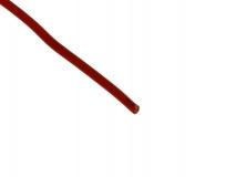 Silikonkabel kupfer 0,50mm rot 1Meter