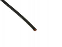 Silikonkabel kupfer 0,50mm schwarz 1Meter