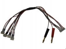 Ladekabel T-REX 150 4-fach für 8S EH Balancer