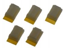 Mini Kabelhalter selbstklebend 5 Stück
