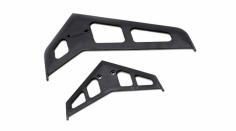 Blade Ersatzteil 500 3D / X Leitwerksfinnenset schwarz
