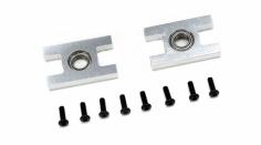 Blade Ersatzteil 500 3D / X Aluminum unteres Lagerhalterset