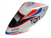 Lynx Kabinenhaube Air Brushed TDR weiߟ für Blade 130X