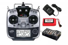 Futaba Sender T14SG mit R7008SB Empfänger 2.4GHz FASSTest Mode 2
