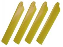 Align Hauptrotorblätter gelb T-REX 150