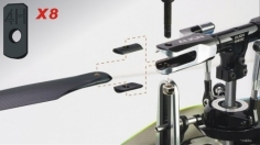 Align Blade Clips für T-REX 450