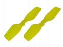 KBDD Heckrotorblätter Extreme Edition für Blade mCPX in gelb