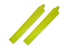KBDD Hauptrotorblätter Extreme Edition für Blade 130X in gelb