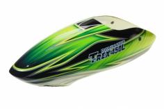 Fusuno Samrock Airbrush fiberglas Haube für T-REX 450L Dominator