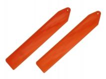 KBDD Hauptrotorblätter Extreme Edition für Blade Nano CP S und Nano CP X in orange