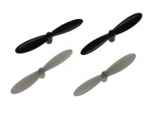 Revell Ersatzteil Propeller Satz in schwarz/weiß für Revell Control Quadrocopter Nano Quad Pro