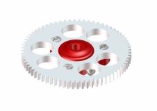 Lynx Hauptzahnrad 70T rot für Blade Nano CPX und Nano CPS