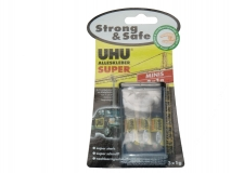 UHU Super Alleskleber strong & safe Minis 3x 1g