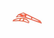 Fusuno vertikale und horizontale Finne orange 2.0mm T-REX 700