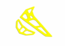 Fusuno vertikale und horizontale Finne gelb 2.0mm T-REX 700