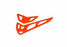 Fusuno vertikale und horizontale Finne orange T-REX 600
