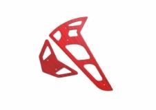 Fusuno vertikale und horizontale Finne rot T-REX 600