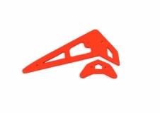 Fusuno vertikale und horizontale Finne orange T-REX 250