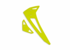 Fusuno vertikale und horizontale Finne gelb Blade 450