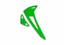 Fusuno vertikale und horizontale Finne grün Blade 450