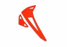 Fusuno vertikale und horizontale Finne orange Blade 450