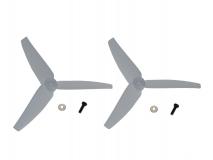 Blade Ersatzteil 200 S, 200 SRX, 230 S, 230 S Night und 250 CFX Heckrotorblätter 2 Stück