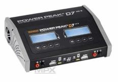Multiplex Power Peak® D7 EQ-BID, für 2 Akkus, 2x200Watt, 10-18Volt oder 230Volt, 1-6S
