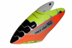 Fusuno Extremat Airbrush fiberglas Haube für T-REX 250 Pro DFC