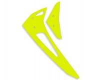 Fusuno vertikale und horizontale Finne gelb für Blade 300X / 300CFX