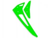 Fusuno vertikale und horizontale Finne grün für Blade 300X / 300CFX