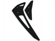 Fusuno vertikale und horizontale Finne Carbon für Blade 300X / 300CFX