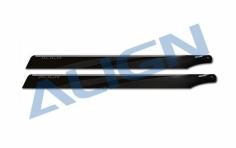 Align Hauptrotorblätter CFK 425mm schwarz T-REX 500