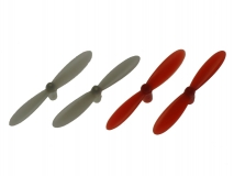 Revell Ersatzteil Propeller Satz in rot/weiß für Revell Control Quadrocopter Nano Quad Pro