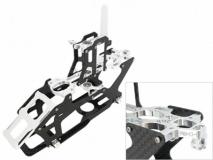Rakonheli Hauptrahmen aus Carbon in silber für Blade 200SRX