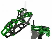 Rakonheli Hauptrahmen aus Carbon in grün für Blade 200SRX