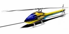 Align Speed Rumpf T-REX 450L gelb blau
