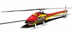 Align Speed Rumpf T-REX 450L rot gelb